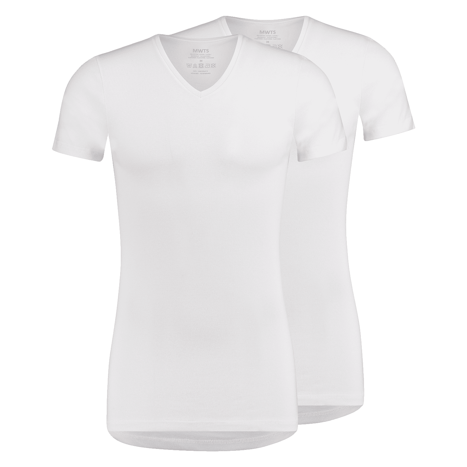 T-shirt V-neck prominent front