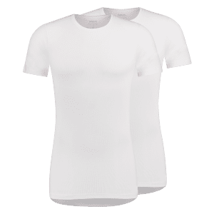 T-shirt round neck prominent front