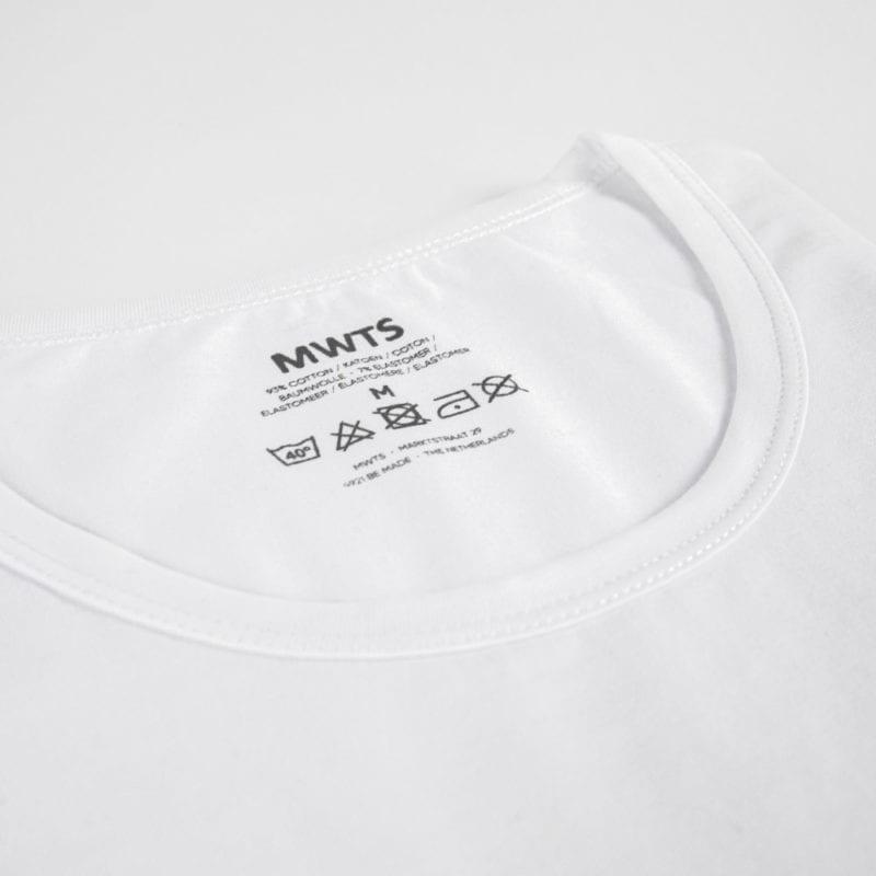 Mijn Witte T-shirts-Premium-T-shirt-ronde-hals-detail